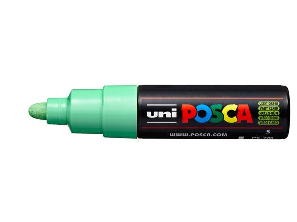 Uni POSCA PC-7M - Bullet 4,5-5,5mm - 5 Light Green