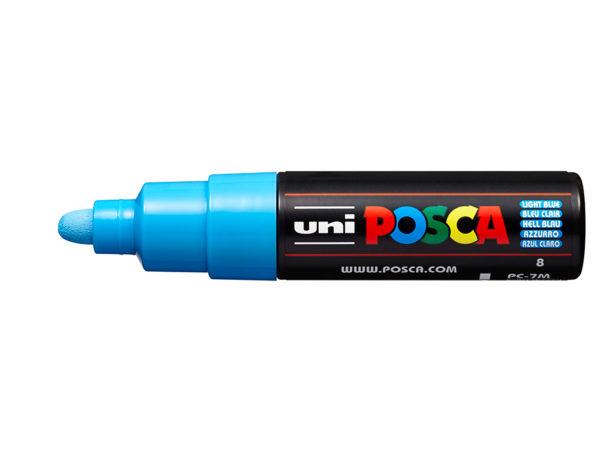 Uni POSCA PC-7M - Bullet 4,5-5,5mm - 8 Light Blue