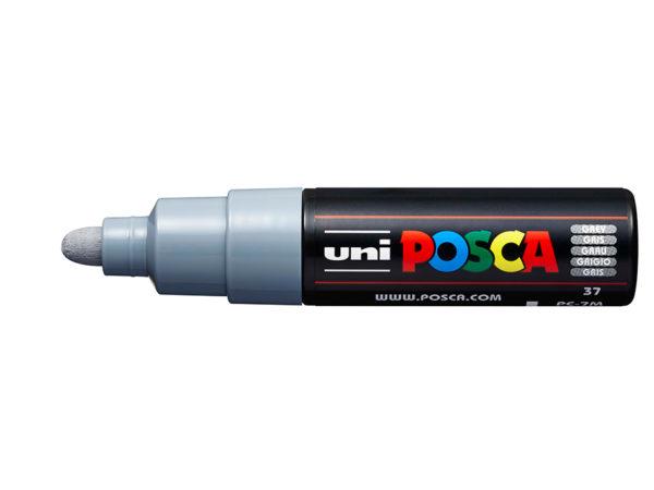 Uni POSCA PC-7M - Bullet 4,5-5,5mm - 37 Grey