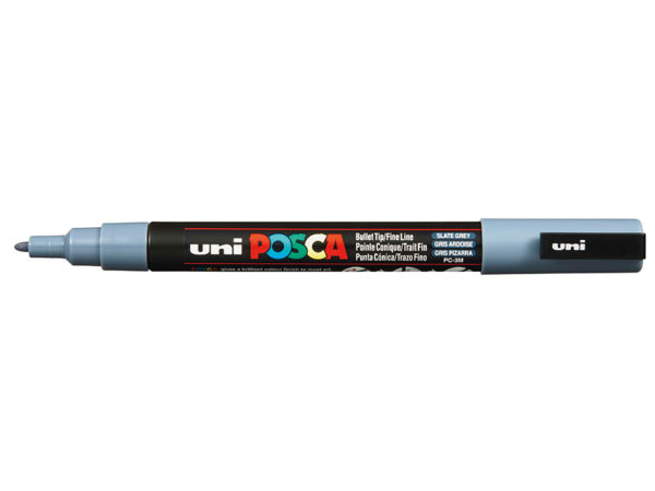 Uni POSCA PC-3M - Fine 0,9-1,3mm - 61 Slate Grey