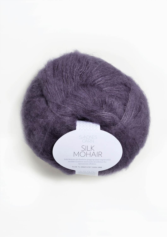 5155 Silk Mohair Lilla   UTGÅTT