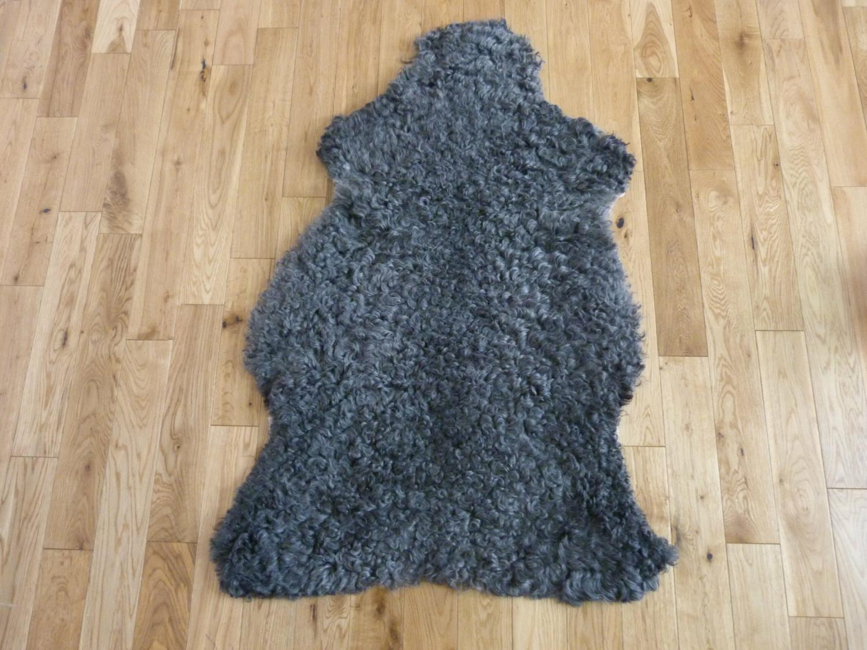 Gotland rug. Sheepskin - Natural Grey