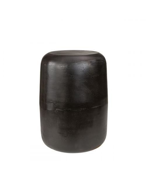 LORENZO stool/side table black