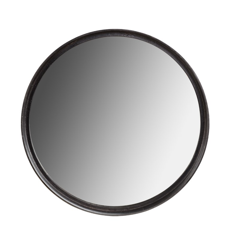 DINO mirror black 80Ø (SP950)