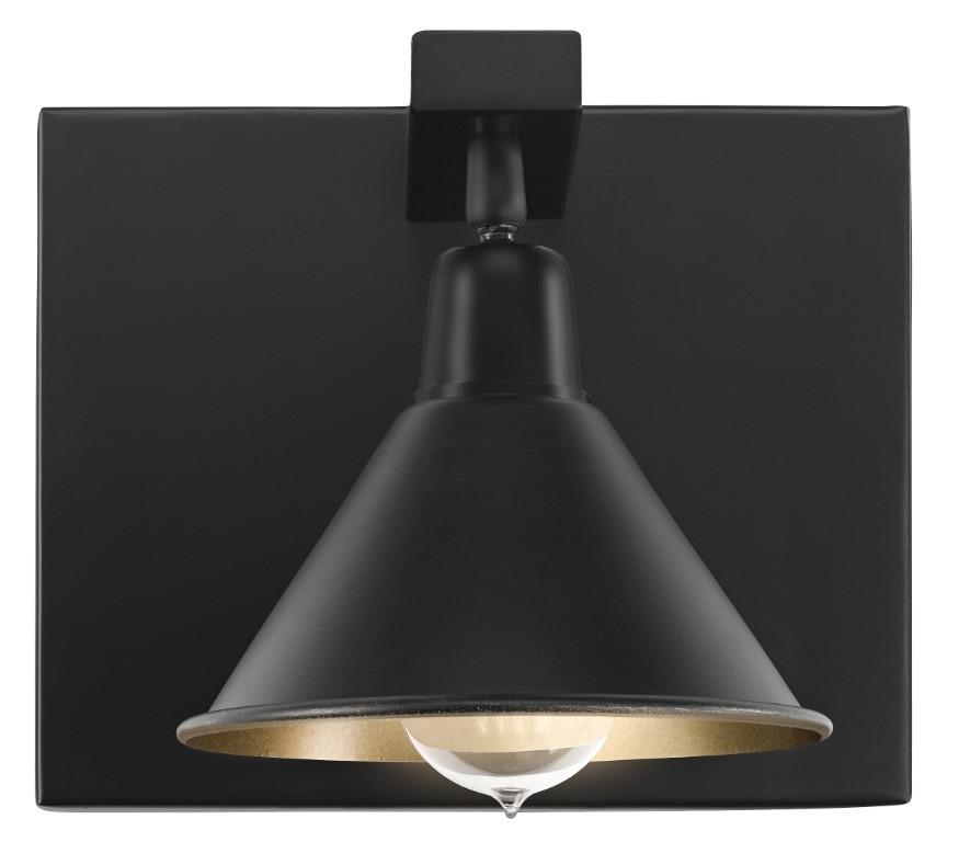 ANZIO Wall lamp single matt black