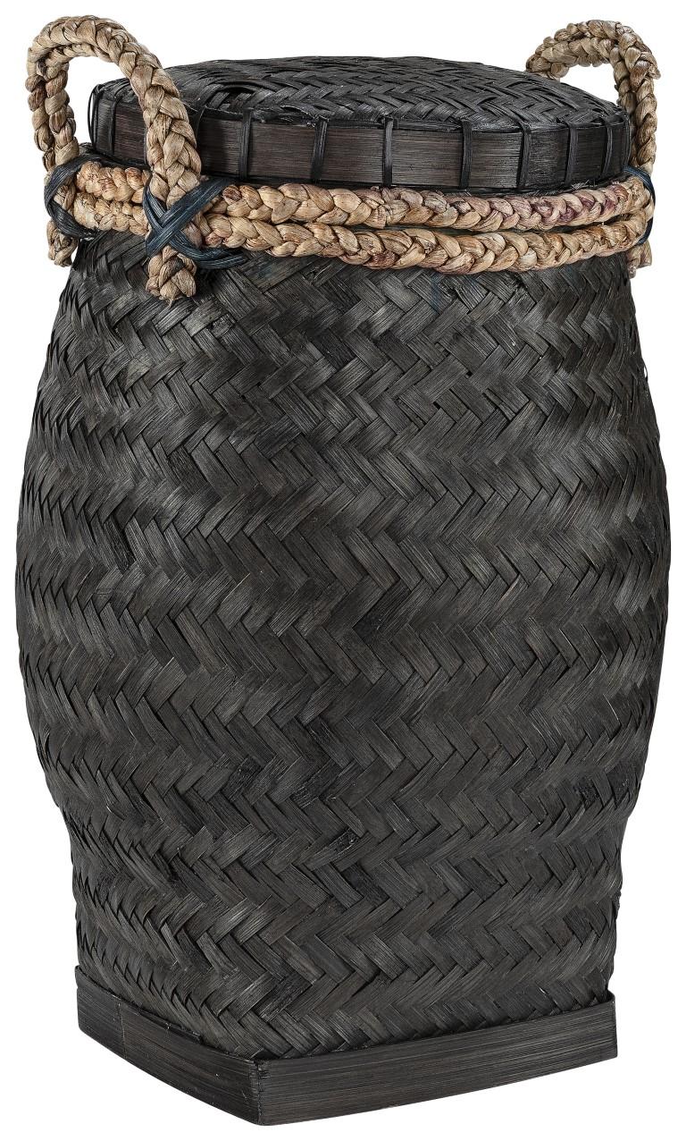 DAVAO Snake basket L black