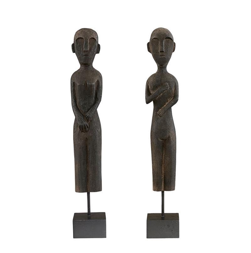 ZIKA & RAMA figures 2-set