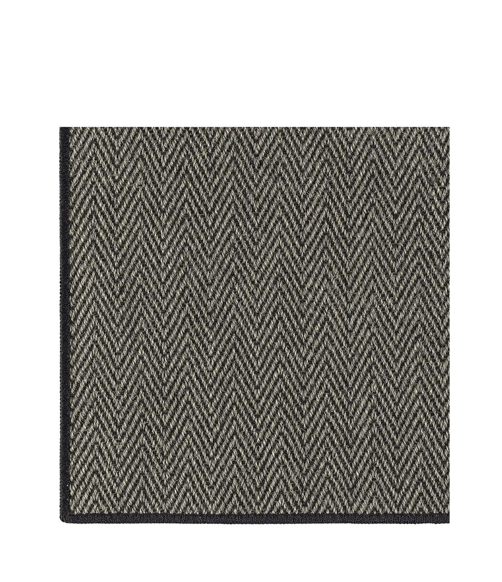 Artwood HURRICANE MOCCA Carpet 2x3 black edging