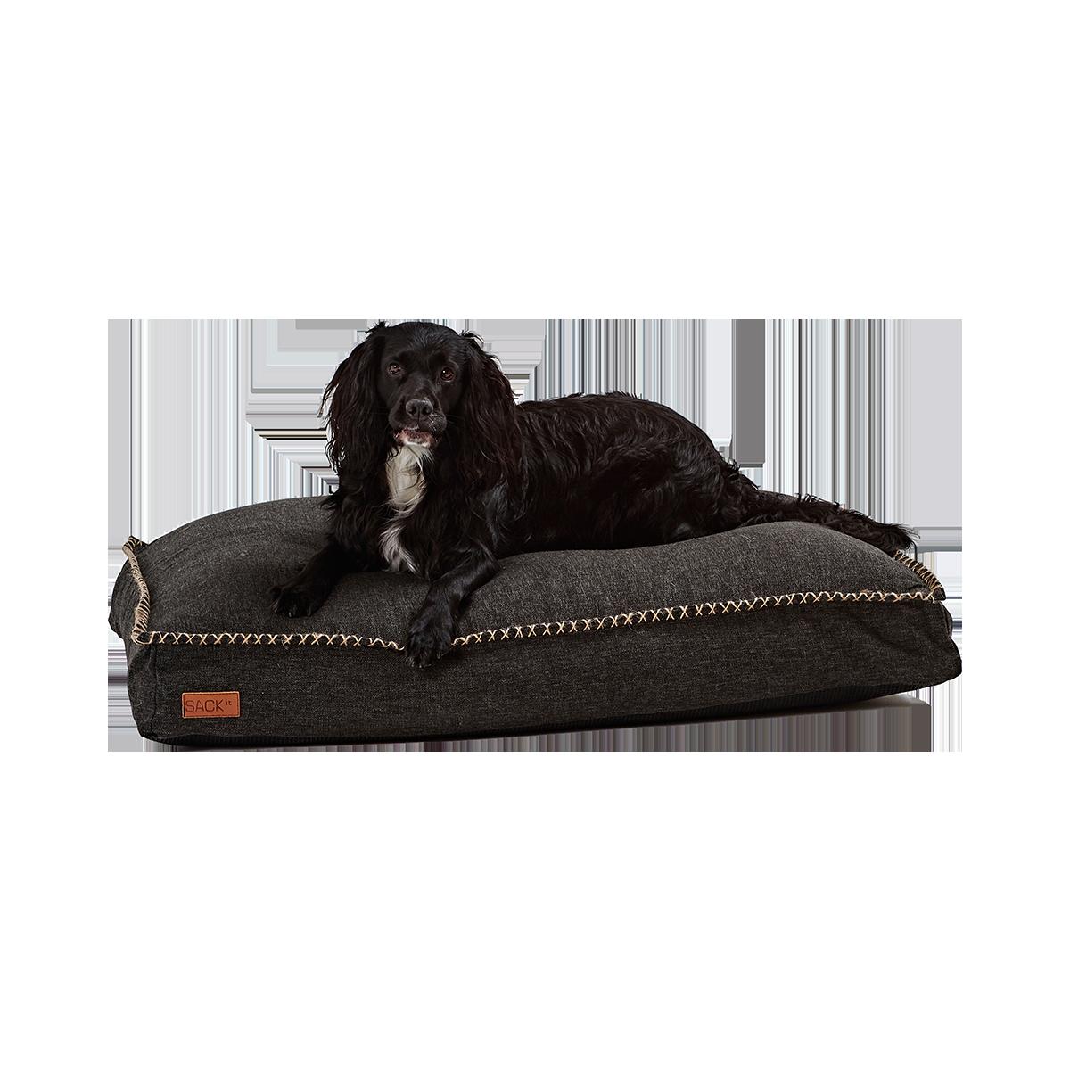 SACKit Dog Bed Large Black