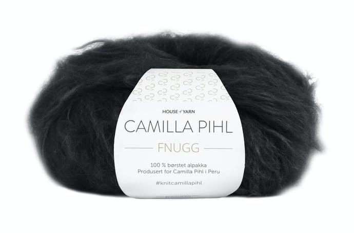Camilla Pihl Garn - FNUGG 901-Svart