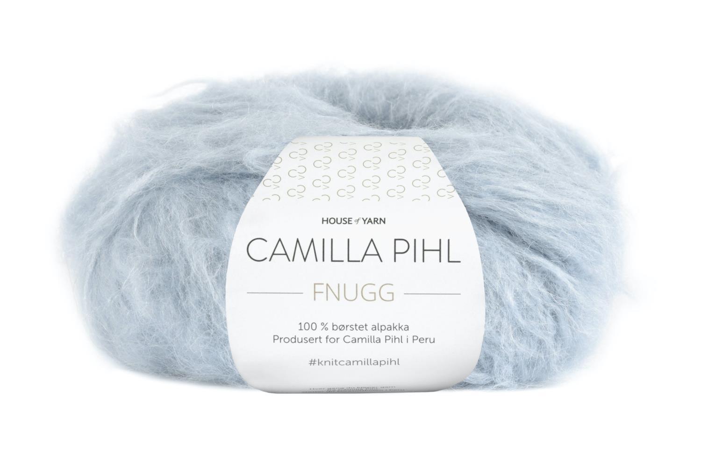 Camilla Pihl Garn - FNUGG 904-Himmelblå