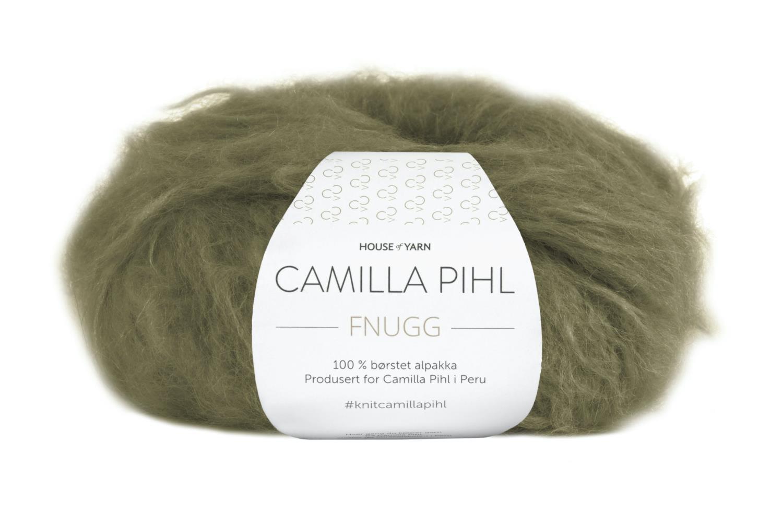Camilla Pihl Garn - FNUGG 906-Oliven