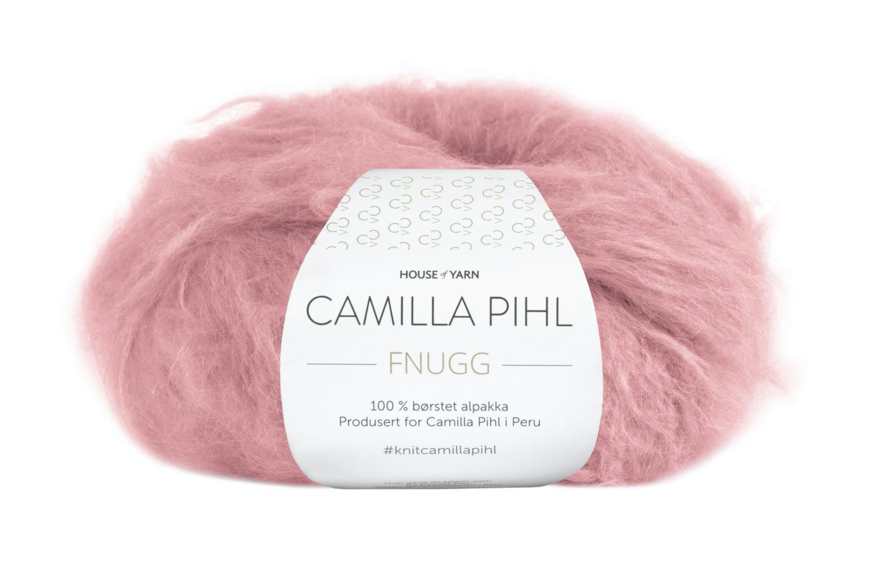 Camilla Pihl Garn - FNUGG 910-Myk korall