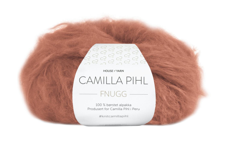 Camilla Pihl Garn - FNUGG 911-Aprikos