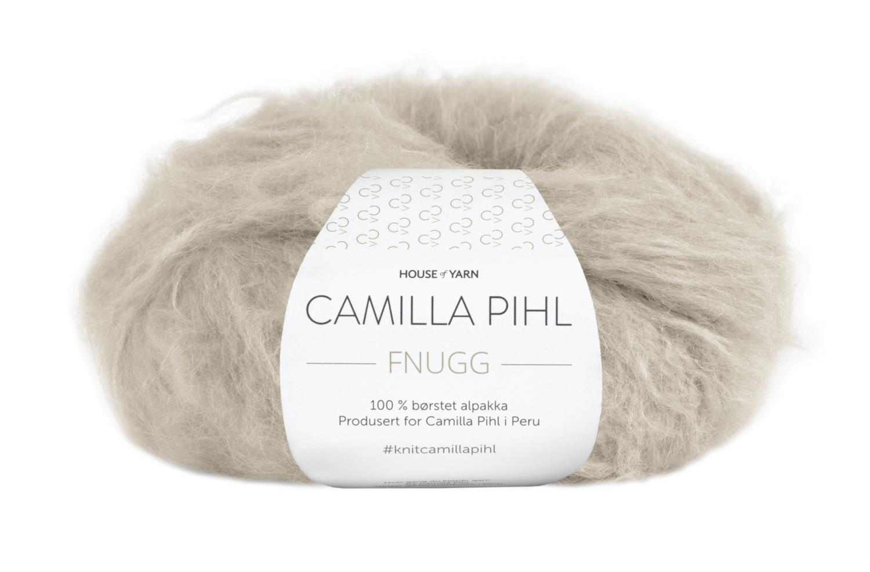 Camilla Pihl Garn - FNUGG 920-Greige