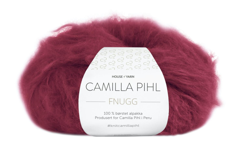 Camilla Pihl Garn - FNUGG 923-Rubinrød