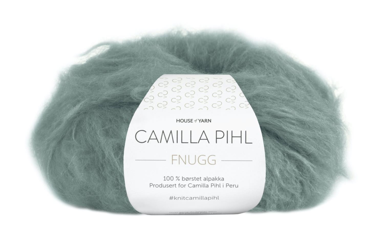Camilla Pihl Garn - FNUGG 924-Agatgrønn