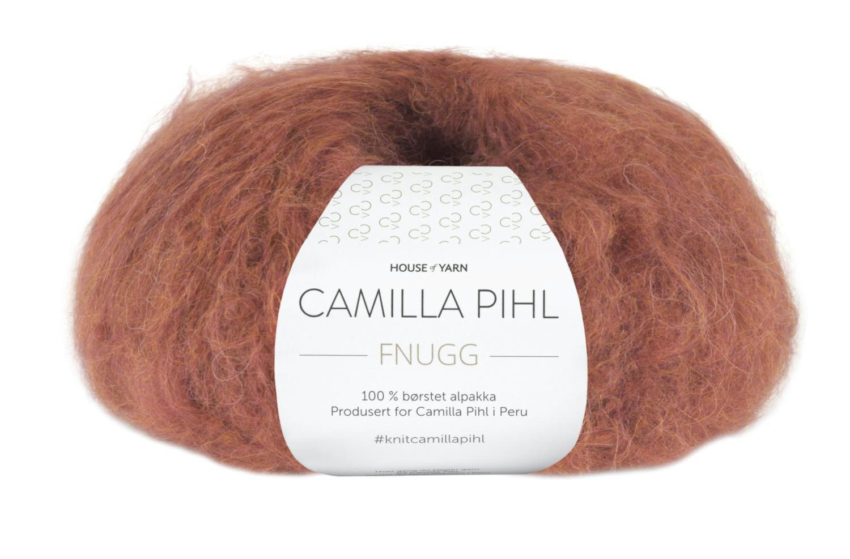 Camilla Pihl Garn - FNUGG 927-Chilirød melert