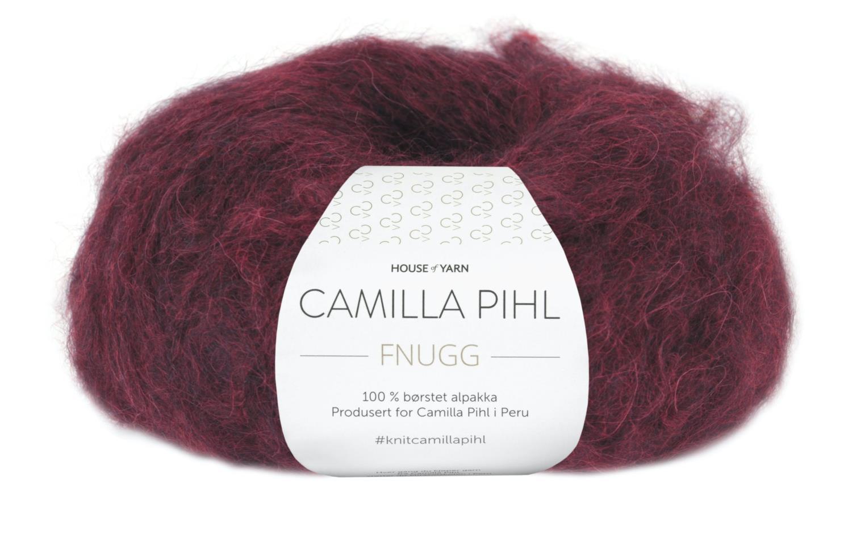 Camilla Pihl Garn - FNUGG 928-Bourdeaux melert