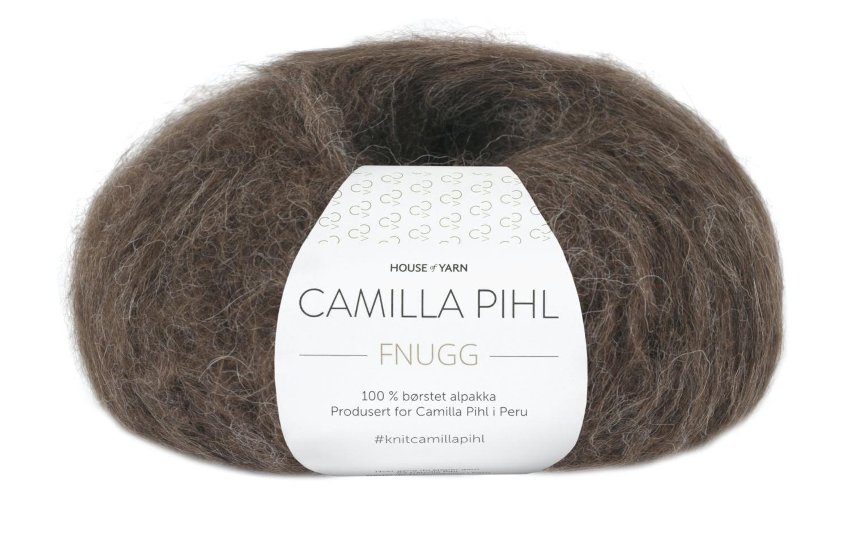 Camilla Pihl Garn - FNUGG 929-Espresso melert