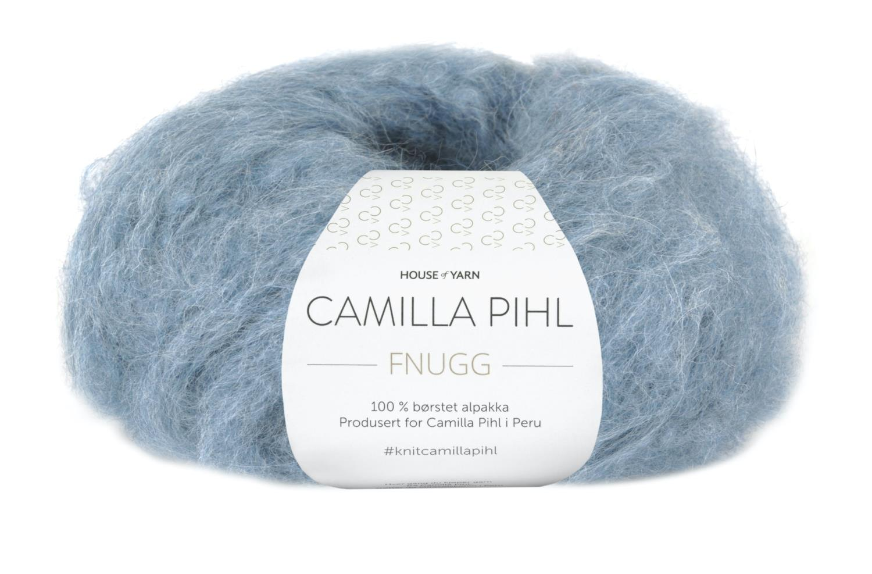 Camilla Pihl Garn - FNUGG 930-Lys denim melert