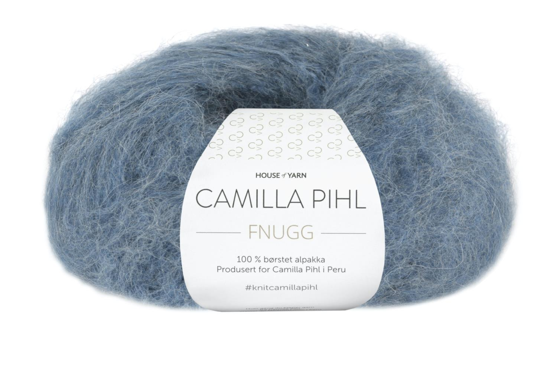 Camilla Pihl Garn - FNUGG 931-Denim melert