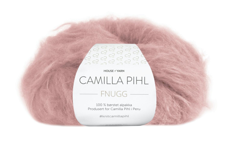 Camilla Pihl Garn - FNUGG 937-Støvet rose