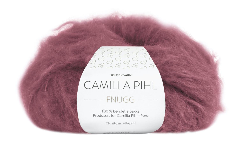 Camilla Pihl Garn - FNUGG 938-Mørk rose