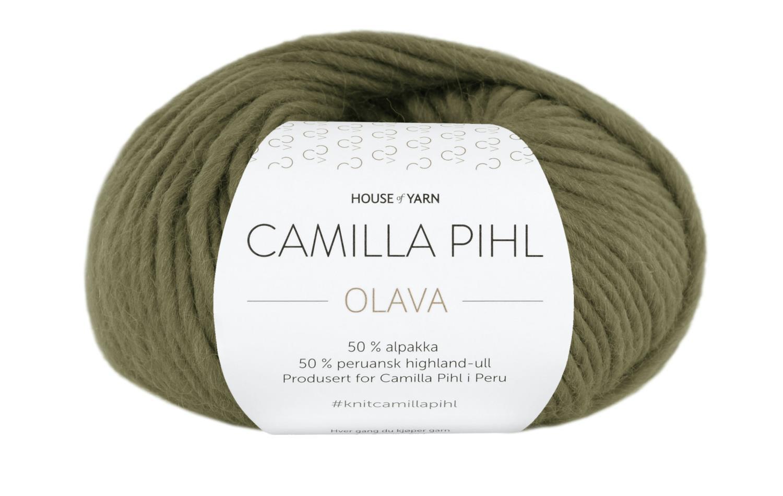 Camilla Pihl Garn - OLAVA 906-Oliven