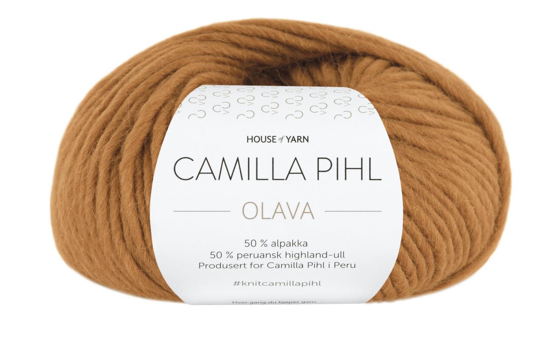 Camilla Pihl Garn - OLAVA 922-Ravgul
