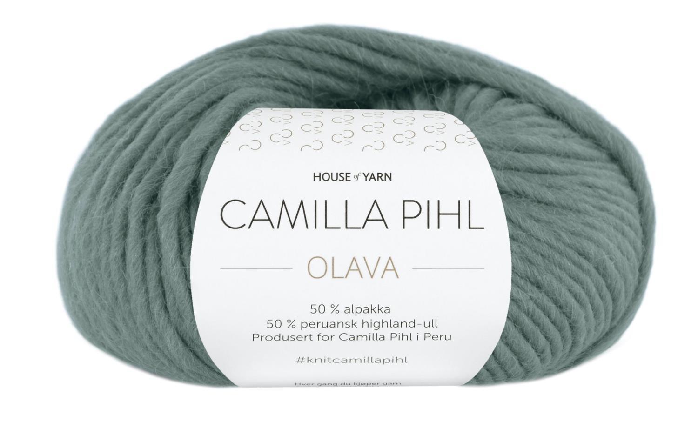 Camilla Pihl Garn - OLAVA 924-Agatgrønn