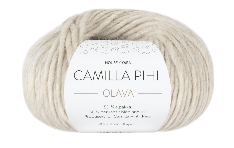 Camilla Pihl Garn - OLAVA 925-Sand melert