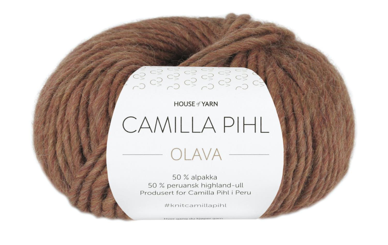 Camilla Pihl Garn - OLAVA 926-Toffee melert