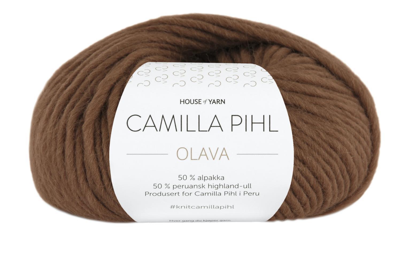 Camilla Pihl Garn - OLAVA 939-Sjokolade