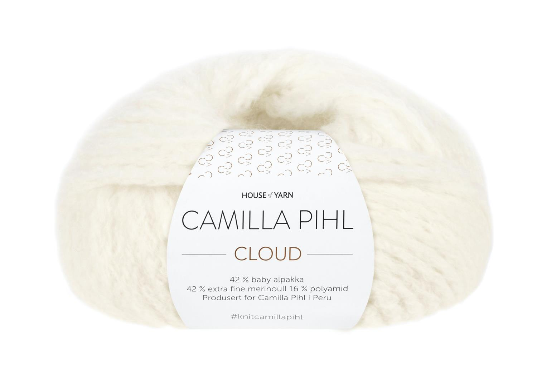 Camilla Pihl Garn - CLOUD 203-Snøhvit