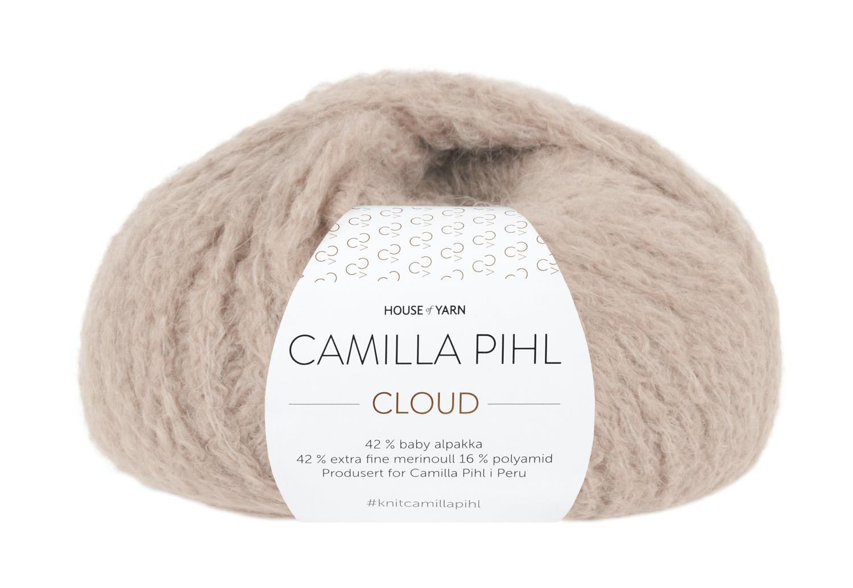 Camilla Pihl Garn - CLOUD 204-Beige rose