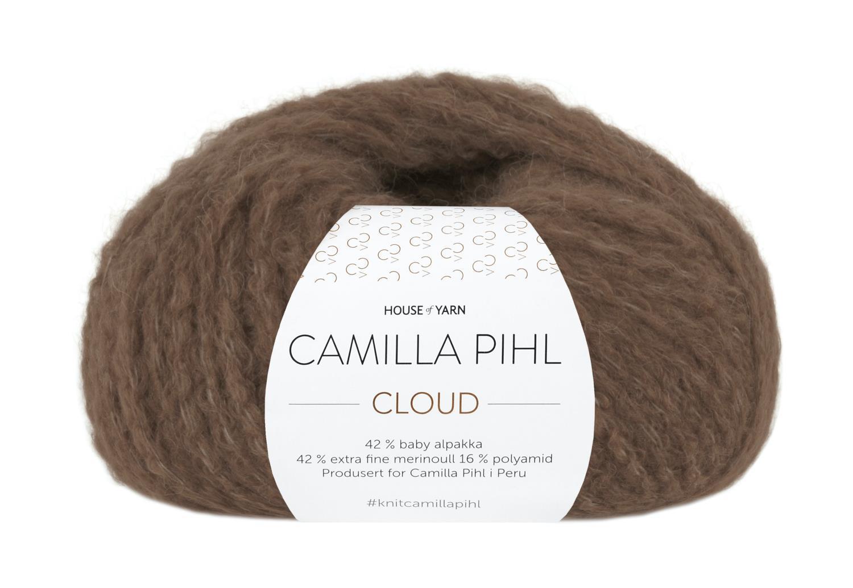 Camilla Pihl Garn - CLOUD 206-Kaffe
