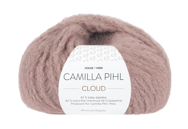 Camilla Pihl Garn - CLOUD 207-Støvet rose