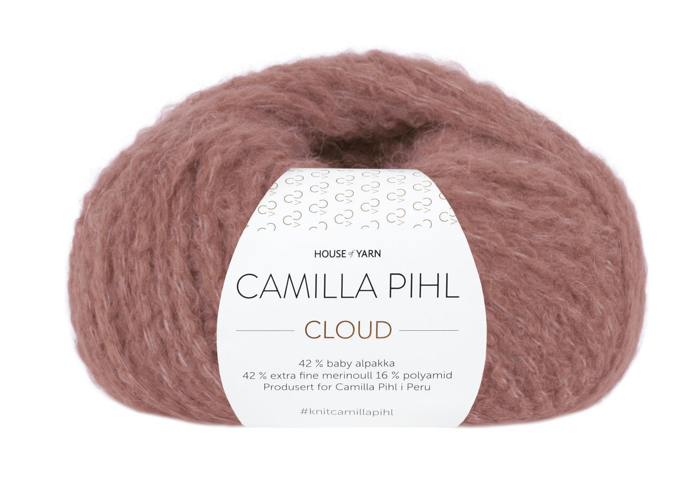 Camilla Pihl Garn - CLOUD 208-Vintage rose