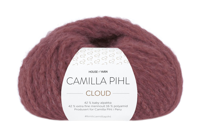 Camilla Pihl Garn - CLOUD 209-Mørk rose