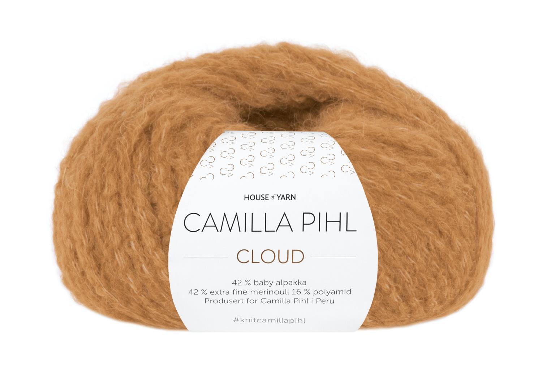 Camilla Pihl Garn - CLOUD 211-Ravgul