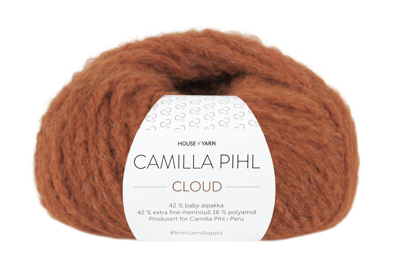 Camilla Pihl Garn - CLOUD 212-Safran