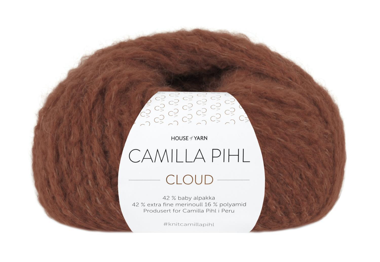 Camilla Pihl Garn - CLOUD 213-Rust
