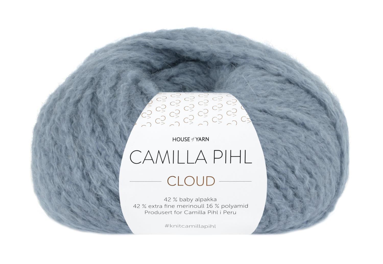 Camilla Pihl Garn - CLOUD 214-Lys denim
