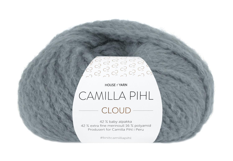 Camilla Pihl Garn - CLOUD 215-Blågrønn