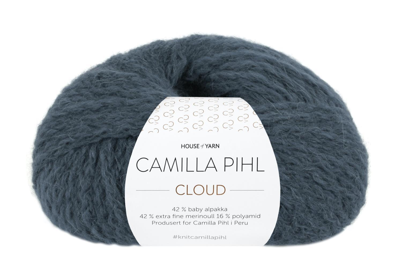 Camilla Pihl Garn - CLOUD 216-Mørk blågrønn