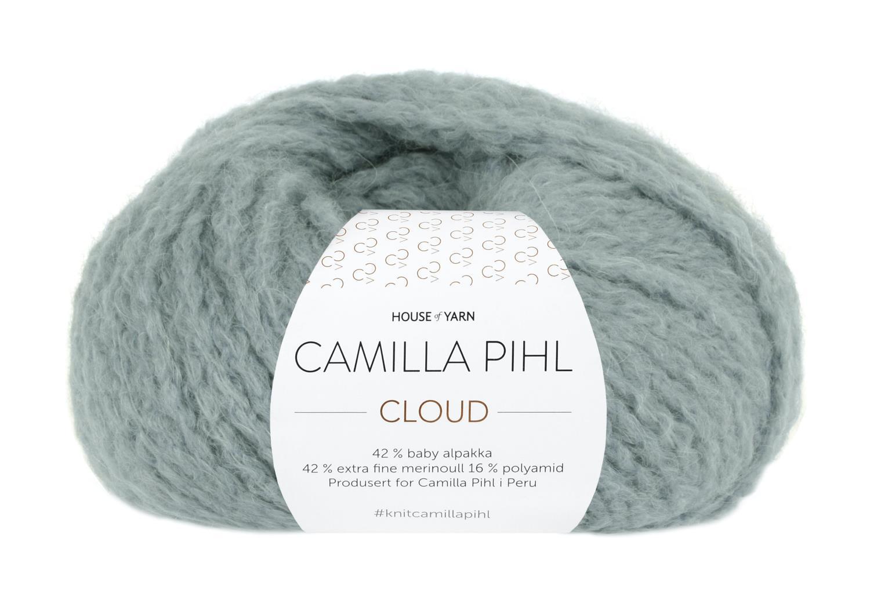 Camilla Pihl Garn - CLOUD 217-Støvet aqua