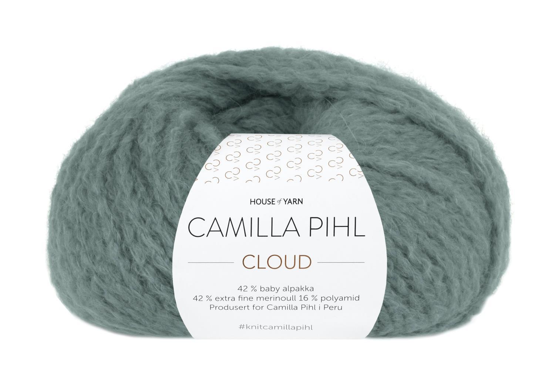 Camilla Pihl Garn - CLOUD 218-Agatgrønn