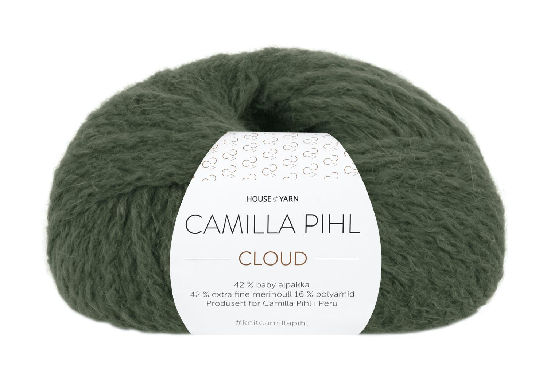 Camilla Pihl Garn - CLOUD 220-Skogsgrønn