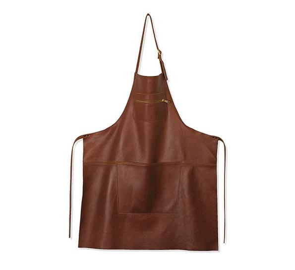 DD Zipper Style Forkle, Skinn - Classic Brown